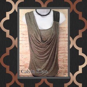 ➕🌻 Calvin Klein Plus Size Scoop Neck Top